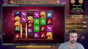 We Play Some Slots Machines Online With Fun , casino bonus Streamer . Com'on large win !