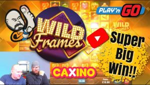 Wild Frames Slot Gives Super large Win!!