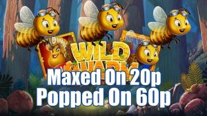 Wild Swarm Maxed on 20p Popped on 60p + Community large WINS!! & call Outs..