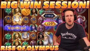 ascent OF OLYMPUS – large WIN SESSION! – 3 BONUSES inwards A ROW on 10€ BET! ALOT OF RETRIGGERS