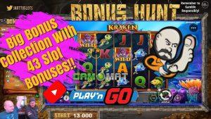 large Bonus Collection With 43 Slot Bonuses!!