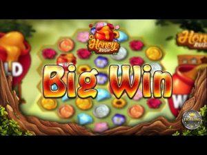 large WIN BEI HONEY RUSH (PLAY'N GO) – 3€ EINSATZ!