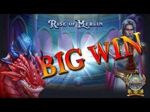 large WIN BEI ascent OF MERLIN (PLAY'N GO) – 2€ EINSATZ!