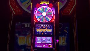 large WIN!! Choctaw casino bonus! Wheel Of Fortune Slots!