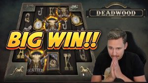 large WIN! DEADWOOD large WIN –  casino bonus slot from CasinoDaddy live current