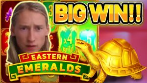 large WIN! EASTERN EMERALDS large WIN – €4 bet from base of operations game on casino bonus Slot
