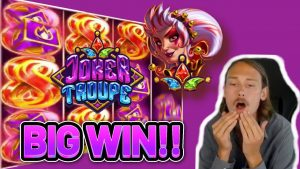 large WIN! JOKER TROUPE large WIN – €6 bet on casino bonus Slot from CasinoDaddys LIVE flow (OLD WIN)