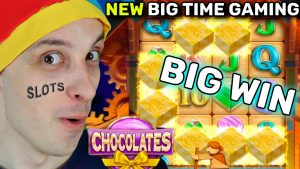 large WIN ON CHOCOLATES SLOT BONUS – BTG