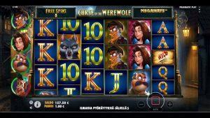large WIN ON CURSE OF THE WEREWOLF MEGAWAYS Pragmatic Play!  online casino bonus