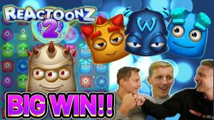 large WIN! REACTOONZ 2 large WIN – €10 BET ON casino bonus Slot from CasinoDaddys LIVE current