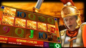 large WIN!! Roman Legion | Gamomat