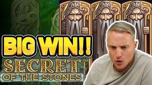 large WIN! SECRET OF THE STONES large WIN – €5 bet on casino bonus Slot from CasinoDaddy