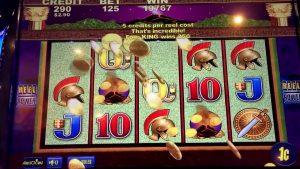 large WIN SLOT MACHINE 50 cent bet TIMBER WOLF at PALA casino bonus 01/16/2017