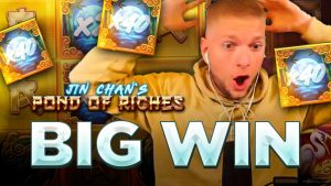 large WIN on JIN CHAN'S POND OF RICHES past times KONGEBONUS