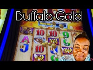 large Win on  Buffalo atomic number 79 Max Bet $3.60 |On A To Mission acquire 15 atomic number 79 Heads | River Spirit casino bonus
