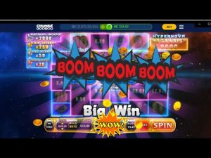 large Win on Hypernova Megaways $5 Bet | Chumba casino bonus