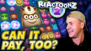 large Win on Reactoonz 2!
