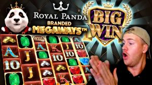 large Win on Royal Panda Branded Megaways!