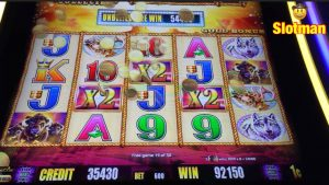 large Wins on Wonder 4 & Original BUFFALO atomic number 79 Slot  Machines @ Chumash casino bonus