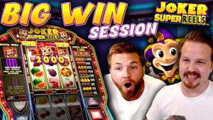 large win session inward Joker Super Reels