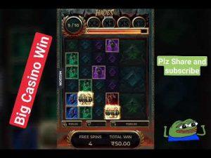 novel Slot Game Hades Gigablox large Win!! casino bonus large Win || Hades Gigablox || Epic Win