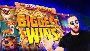 novel tape inwards The Canis familiaris House slot | Top 5 Biggest Wins inwards casino bonus