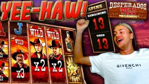 some other HUGE WIN on Desperados Wild Megaways