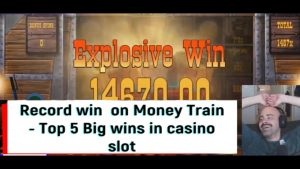 tape win  on Money develop – Top 5 large wins inward casino bonus slot!