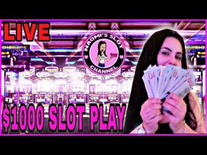 $1000 WINNING LIVE casino bonus SLOT PLAY large WIN ON AUTUMN satelite 🌝 BUFFALO🐃WHEEL OF FORTUNE MIGHTY CASH