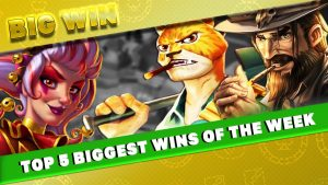 TOP 5 BIGGEST WINS OF THE calendar week | BONUS GAME | large WIN ON THE novel atomic number 26 BANK SLOT