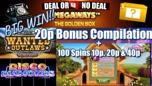 20p Bonus Compilation With a large WIN!! + 100 Spins On Chocolates 10p, 20p & 40p+Community large WINS!!