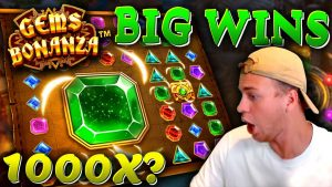 3 large Wins on Gems Bonanza! (novel Slot)