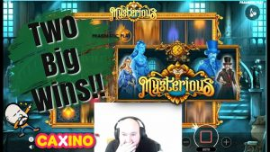 4 Scatters!! 2 large Wins From Mysterious Slot!