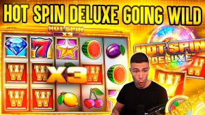5 SPINS – 5 WILDS ON HOT SPIN DELUXE 🎰 large WIN ON ISOFTBET ONLINE SLOT MACHINE