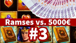5.000€ vs. Ramses volume Slot – Teil 3! large WIN!