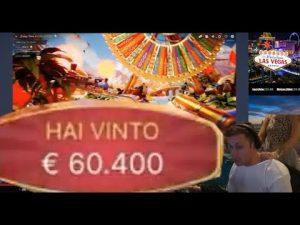 60'000 euro large WIN Casinó LIVE