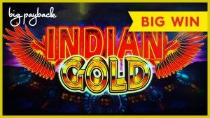 AWESOME RETRIGGER! Indian Au Slot – large WIN BONUS!