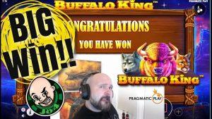 Buffalo Rex Slot Gives a large Win!!