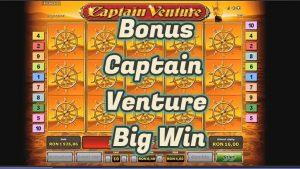 CAPTAIN VENTURE BONUS large WIN