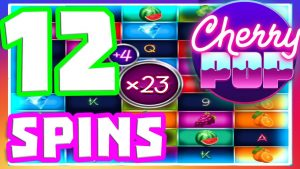 CHERRY POP 🍒SLOT large WIN LETS GO hither OMG BONUS BUYS tin PAY 12 loose SPINS upwardly TO 23X MULTIPLIER‼️😳