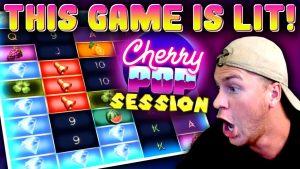 Cherry Pop-økt med store gevinster!
