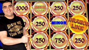 Dragon Link Slot Machine Max Bet Bonus & Nice Wins | Live Slot Play At casino bonus | SE-6 | EP-13