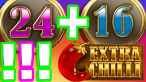 EXTRA CHILLI 🌶️ SLOT large WIN RARE BONUS 🏆hitting OMG 40 unloosen SPINS LETS GO THE RETRIGGERS NEVER halt‼️