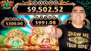 FU DAI LIAN LIAN mänguautomaat suur WIN | Suure sidemega Dragon Link 25 dollari suurune panusboonus ja kena võit | Live pesa