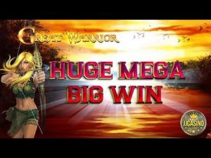 HUGE MEGA large WIN BEI GREAT WARRIOR (GAMOMAT) – 2.50€ EINSATZ!