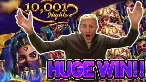 REBĦ KBIRA !!! 10001 NIGHTS large WIN - € 10 bet fuq slot SLOT ġdid minn Tiger Gaming ħamrani