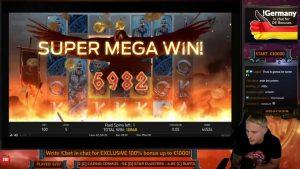 HUGE WIN! VIKINGS large WIN   €5 bet on casino bonus Slot from CASINODADDY