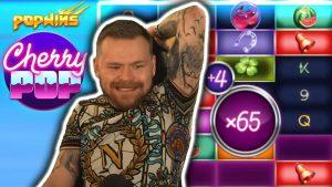 HUGE WIN on CHERRY POP – casino bonus Slots large Wins