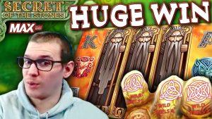 HUGE WIN on Secret of the Stones MAX Slot – £7.50 Bet