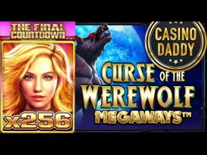 HUGE WIN!!!The Final Countdown!!!Curse of the Werewolf !!!! CasinoDaddy